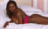 Hairy Babes Busty Unshaved Ebony Melissa Strip