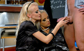 Fully Clothed Sex Gallery th 39110 t Two Hot Blonde Chicks Seduce The Bartender And Fuck Him