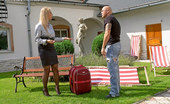 Fully Clothed Sex Daria Glower Blonde Secretary Screwing A Bald Dude Outdoors Hardcore