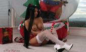 Foxy Anya Busty Latina Beauty Dildo Fucks Her Pussy