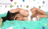 Foxy Anya Hot Babe In Bunny Ears Plays With Pussy
