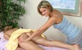 Tushy Massage Busty Girl Anal Massaged With A Vibrator
