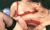 Rodox Gallery Th 10438 T Two Hairy Retro Ladies Enjoying It In Their Tight Asses