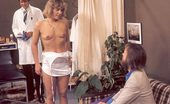 Rodox Gallery Th 13280 T Seventies Lady Goes To The Doctor For A Kinky Shaving Job