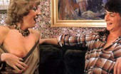 Rodox Gallery Th 13319 T Two Hairy Seventies Ladies Pleasing A Lucky Friend His Dick