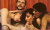 Rodox Gallery Th 14992 T Three Hairy Seventies Ladies Sucking His Big Dick At Once