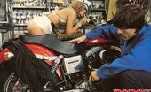 Rodox Gallery Th 15233 T Hairy Seventies Lady Boned By A Horny Mechanic In A Bikeshop
