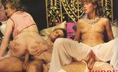Rodox Gallery Th 15612 T 178705 Two Hairy Seventies Ladies Getting Stuffed By Two Studs