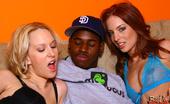 Ruth Blackwell Rb Riley Shy Blond & Redhead Interracial Fuck Blowjob Cum