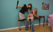 Bad Tushy Girl Stealing Gets Spanked By Her Male Boss