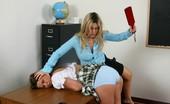 Bad Tushy Asian Girl Getsover The Knee Spanking