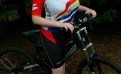 Dream Of Ashley Ashley Rides Her Bike And Shows Off Her Natural Big Tits