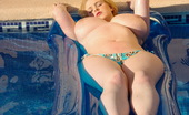 Dream Of Ashley Ashley Sage Ellison Fools Around In The Pool On Her Rubber Lilo