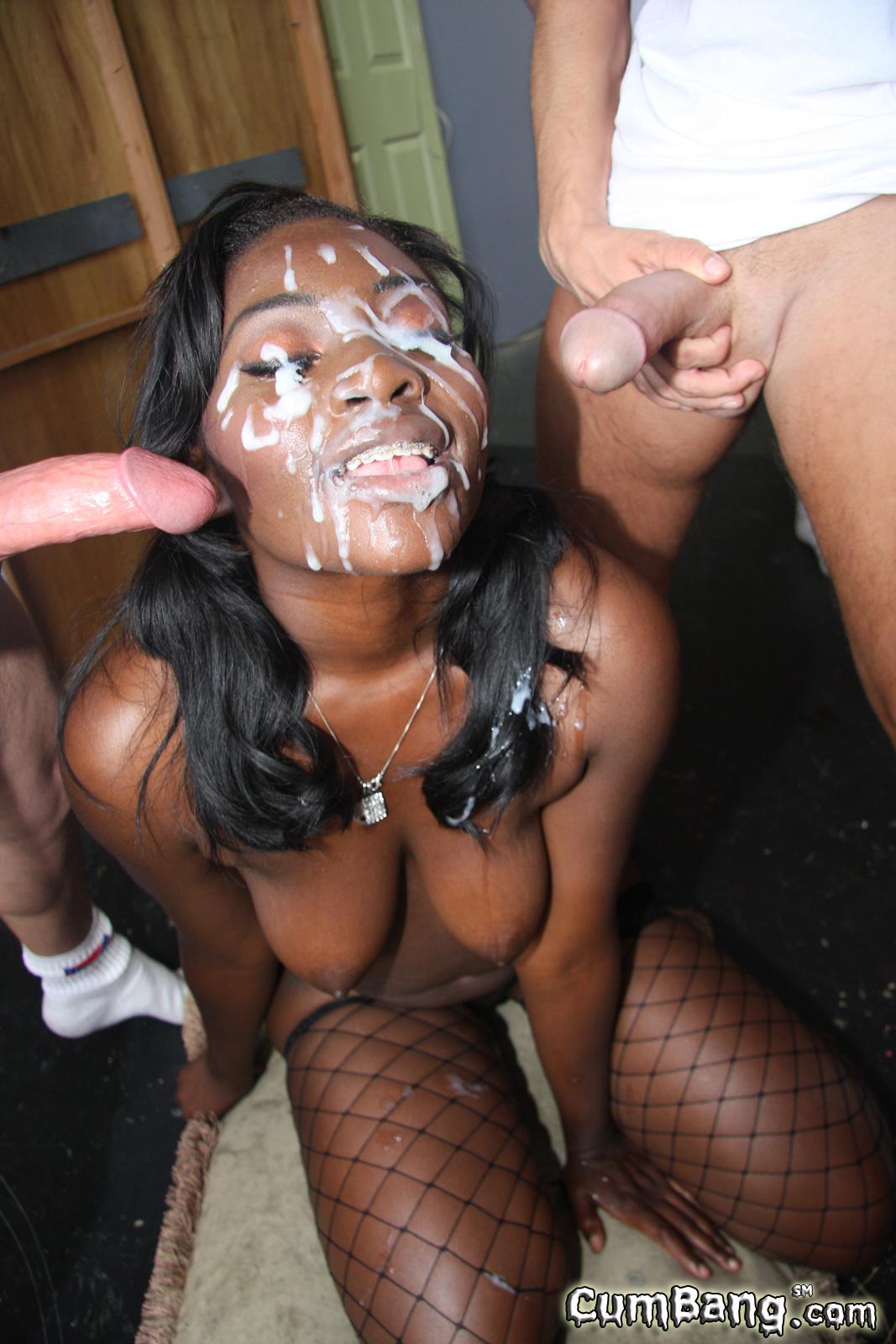 Black Babe Cum Porn