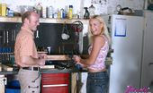 Beauty And The Senior Brenda & Jamie Senior Showing A Horny Blonde Beauty His Powerful Tools