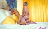 Beauty And The Senior Vanessa & Albert Stunning Teen Maid Cleans Up A Senior His Room And His Cock