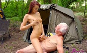 Beauty And The Senior Gallery Th 26197 T Redhead Teen Hottie Seduces A Wealthy Senior On A Camping