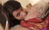 Beauty And The Senior Maggie A Horny Senior Taken Care Of By A Teenage Brunette Hottie