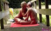 Beauty And The Senior Linda Yoga Performing Horny Old Senior Fucks A Willing Blonde