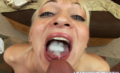 Load My Mouth Rachel Love Platinum Blonde Rachel Love Gets Loaded Up With Cum After Deep Throating A Cock