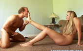 Load My Mouth Becca Bay Hot Blonde Becca Bay Swallows A Hot Load Of Brandon Irons Ball Snot In This Photo Set