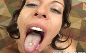Load My Mouth Kora Cummings Kora Cumming Eats Brandon Irons Hot Load Of Man Sauce In This Photo Set