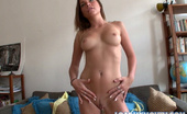 Load My Mouth Perry Perry Strips Before Blowing And Fucking In POV