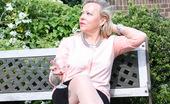 Mature.eu Naughty Biritish Housewife Getting Dirty In The Garden