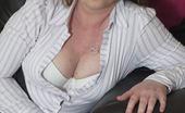 Mature.eu British Housewife Teasing And Waiting To Show You More