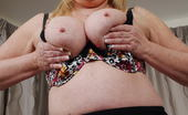 Mature.eu Busty Mature Lady Having A Great Time With Herself