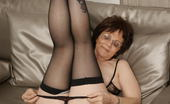 Mature.eu Naughty Mature Slut Getting Wet On The Couch