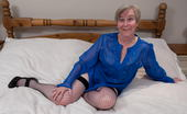 Mature.eu Naughty Mom Playing Alone On Her Bed