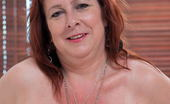 Mature.eu Horny Mature Lady Playing On Her Bed With Her Toy