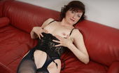 Mature.eu Naughty Mature Slut Playing On Her Couch