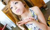 JAV HD Anri Hoshizaki Anri Hoshizaki Asian In Colorful Dress Has Mouth Filled With Cum