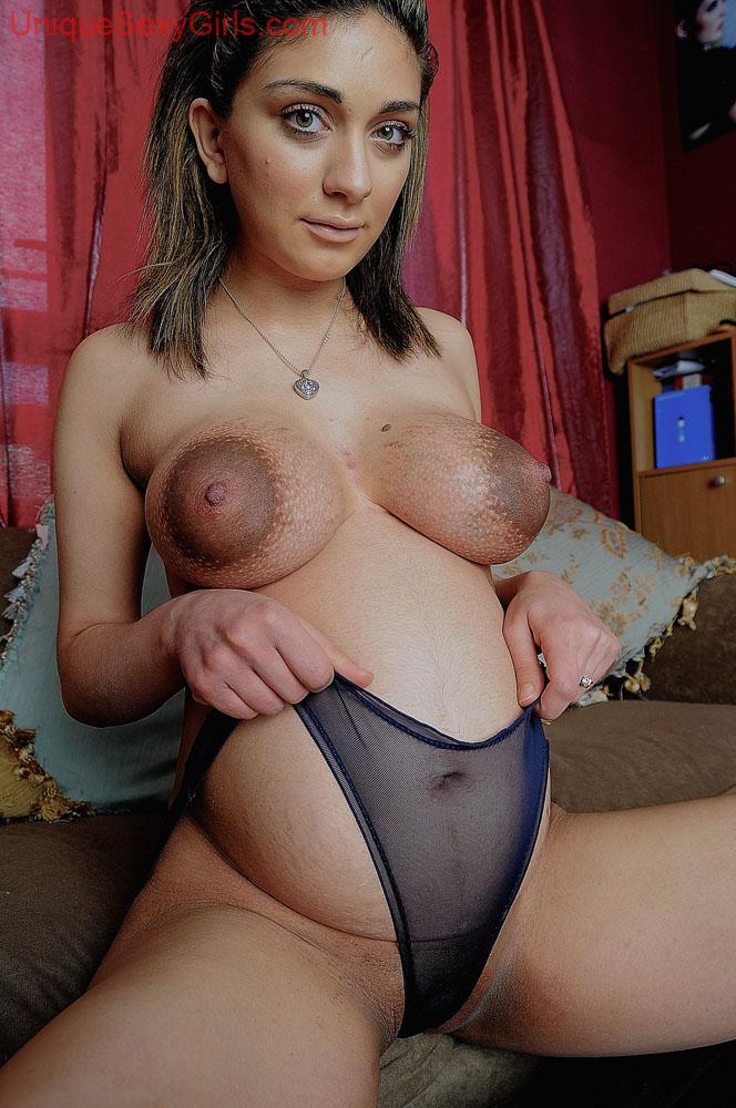 фото большие ореолы сосков порно