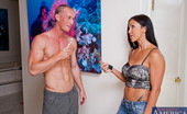 Neighbor Affair Jewels Jade Horny Jewels Jade Takes Care Of Her Neighbor By Riding His Hard Dick And Swallowing His Cock.