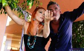 Neighbor Affair Dani Jensen Gorgeous Redhead Babe Has Hot Sex With Her Neighbor After Arguing About Neighborly Stuff.
