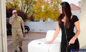 Neighbor Affair India Summer 185569 India Spots Officer Billy Looking Around Her House So, She Knocks On The Window And Points At Him To Meet Her At The Garage. Officer Billy Has Been Noticing Some Suspicious Activity With A Lot Of Guys Coming In And Out Of India'S Home. He Was Just A