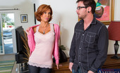 Neighbor Affair Veronica Avluv Veronica Avluv Drops By Her Neighbors Home And Brings By A Bottle Of Wine To Welcome Him To The Neighborhood. Of Course, She'S A Very Welcoming Neighbor And Gives Her New Neighbor Another Little Gift Once She Gets Him Alone Inside His House. She Tosses Hi