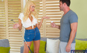 Neighbor Affair Summer Brielle 185582 Summer Brielle Is Practicing Her Golfing But All Her Balls Have Ended Up In Her Neighbor'S Yard. She Goes To Retrieve Them And Her Neighbor Offers To Give Her Some Golf Tips...But He'S Really More Interested In Giving Her The Tip Of His Penis. Summer Is O