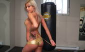 Naughty Sarah At Home 185748 Kick Boxing Session With Sarah In This Photoset Sarah Is Just Stunning Wearing Her Golden Kick Boxing Suit, She Gets A Phenomenal Body To Die For. Bet That You Won'T Care To Take The Place Of The Punching Bag For A Moment.