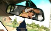 Mike's Apartment Angelina Amazing Euro Babe Angelina Leans Over From The Backseat To Suck A Cock Then Gets Both Her Holes Fucked Hard In These Hot Outdoor Hot Fucking Pics And Video