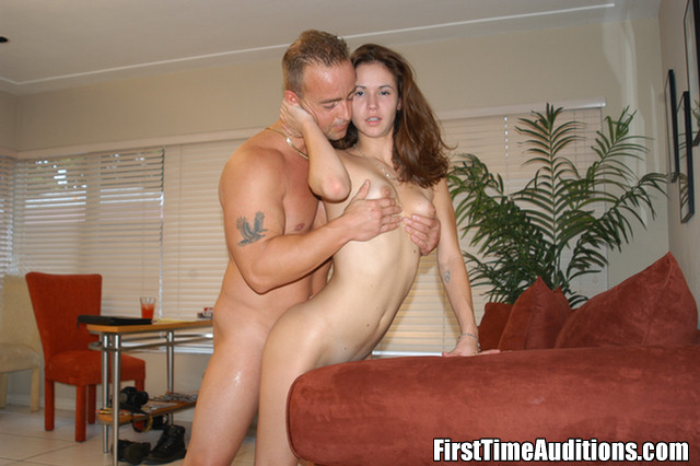 First time college auditions sex