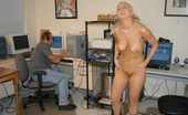 First Time Auditions Jules Blonde With Big Ass Tits Gets A Load In Her Face