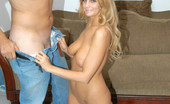 First Time Auditions Jenni This Sexy First Timer Gets Creamed On In These Pix