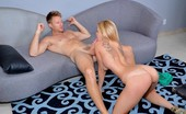 First Time Auditions Jessy Jessy Was A Hot Blond With A Great Attitude To Loved To Suck Cock On Camera