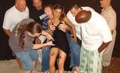 Tampa Bukkake Tight Latina Spinner Brie Getting A Bukkake
