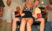 Tampa Bukkake Hot Wife Having Her First Gang Bang Bukkake Party