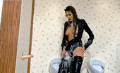 Tainster Kitty Jane 187631 Horny Willing Sweetie Drinking Man Juice In Public Toilet